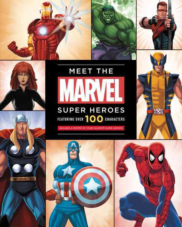 Meet the Marvel Super Heroes By Peterson, Scott
